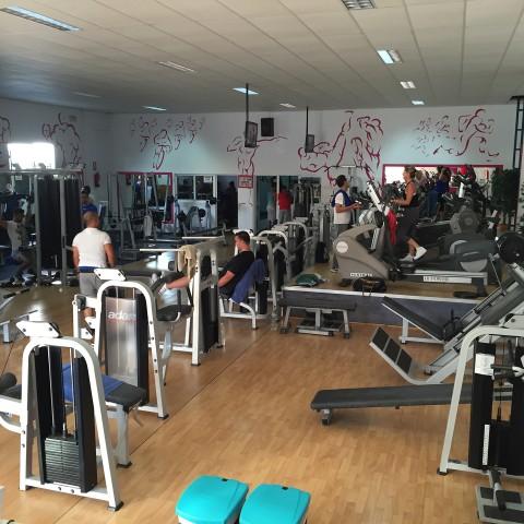 Zona de fitness
